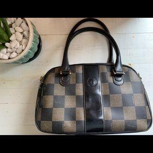 Fendi Vintage Checkered Purse